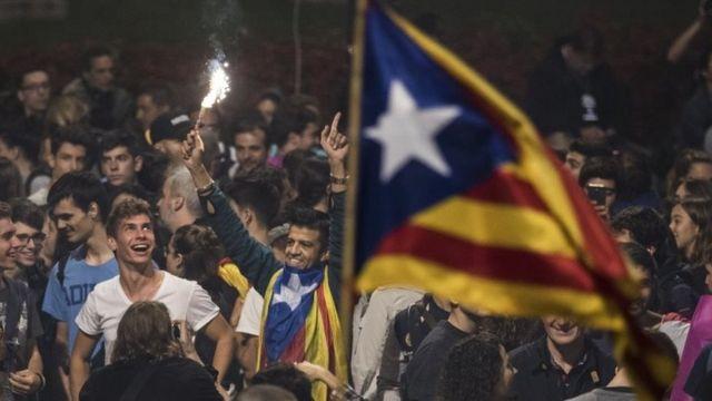 Celebración en Cataluña.