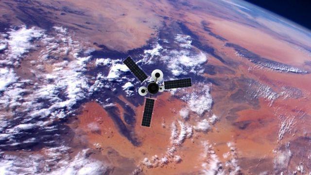 Отслеживание быстро движущихся вокруг Земли объектов помогает повысить точность навигации по звездам
