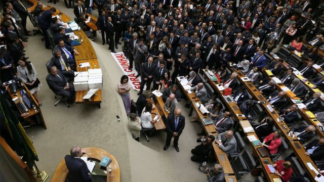 Eduardo Cunha no Congresso