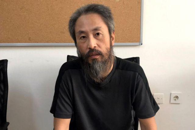 安田さんはトルコから動画で声明を発表した