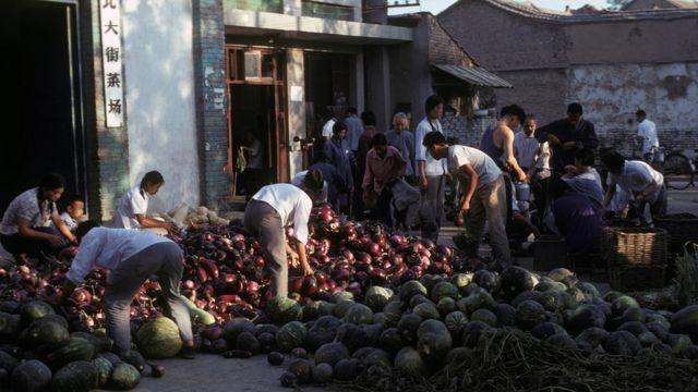 pijaca u Kini 1978.