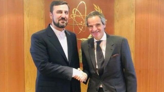 نماینده دائم ایران در آژانس و مدیرکل آژانس بین المللی انرژی اتمی