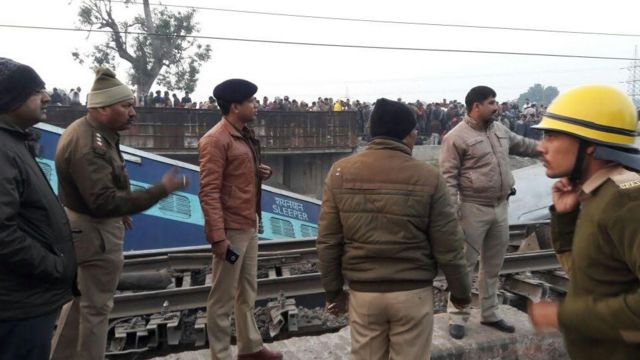 कानपुर देहात के पास ट्रेन हादसा