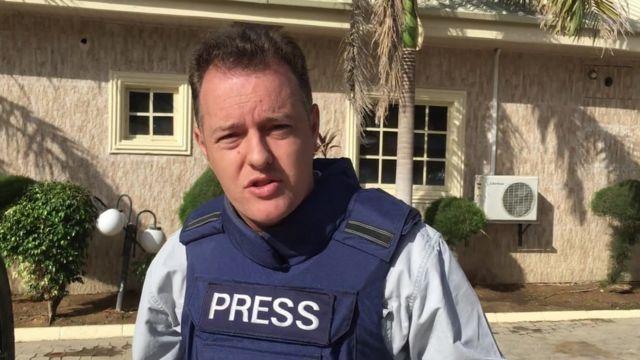 The BBC's Martin Patience in Maiduguri