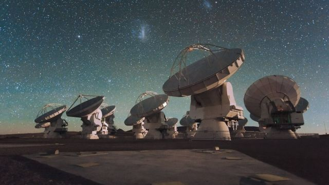 Antenas do Alma, no Chile
