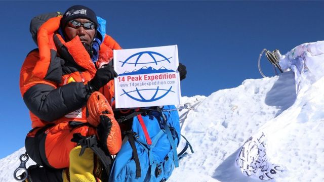 Last month Kami Rita Sherpa broke his own world record not just once, but twice after summiting Everest for a 24th time