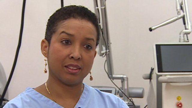 Consultant dermatologist Maria Gonzalez