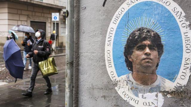 يتبع الكنيسة المارادونية الآلاف، ويقيمون احتفالاً بميلاد أسطورة الكرة الأرجنتينية في 30 أكتوبر/ تشرين الأول من كل عام