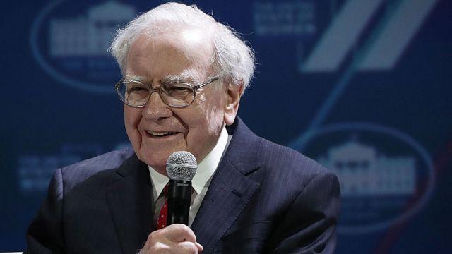 Warren Buffet.