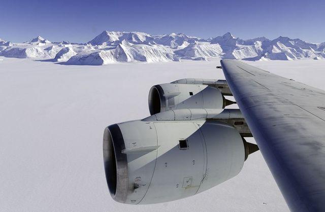 Pegunungan Ellsworth adalah yang tertinggi di Antartika