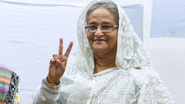 Bangladeş Başbakanı Şeyh Hasina