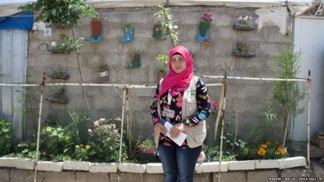 Aveen İsmail ve bahçesi