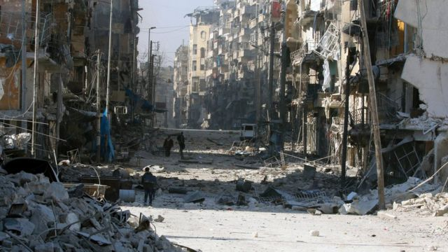 الأطلال في حلب