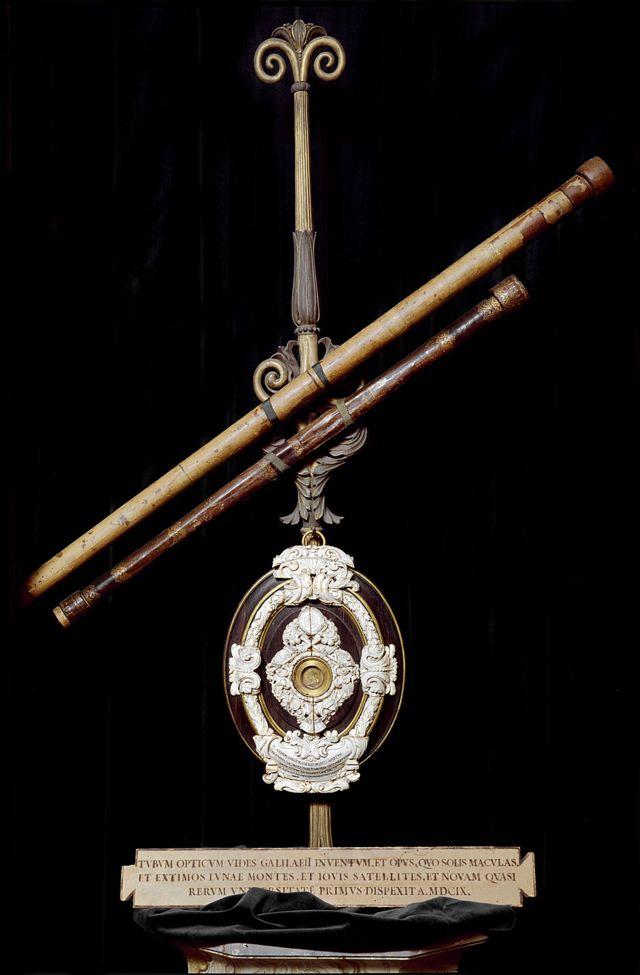 Los dos telescopios de Galileo