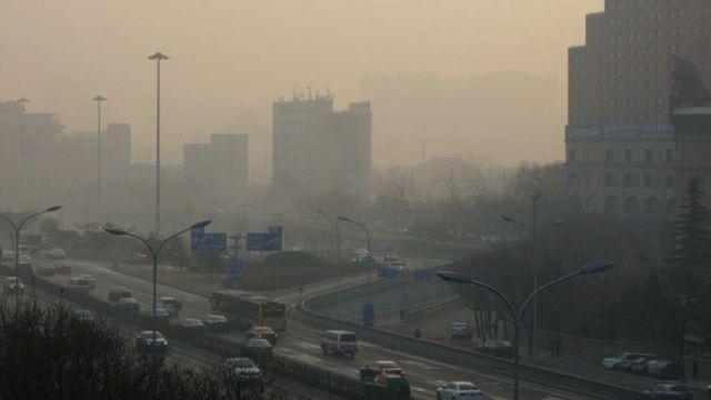 Ô nhiễm không khí tại Bắc Kinh trong tháng 12/2016