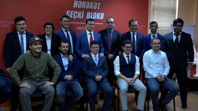 gənclər seçki bloku Azər Qasımlı Mehman Hüseynov