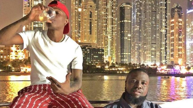 Hushpuppi and Nigeria popular Nigerian musician Wizkid