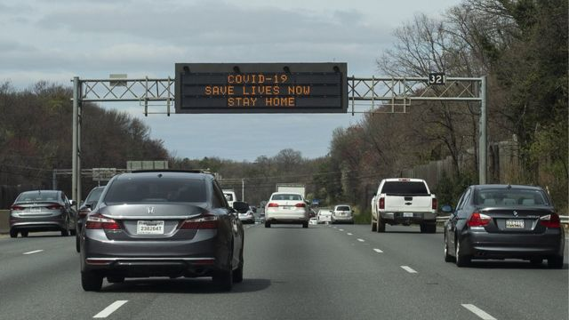 Автомагистраль в США