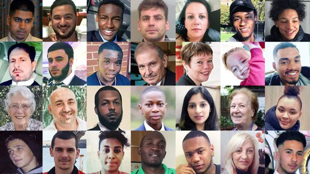 London killings: All the victims of 2018