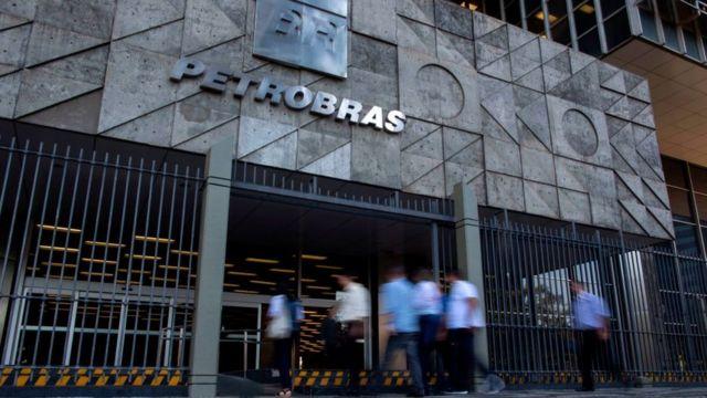 Fachada de Petrobras.