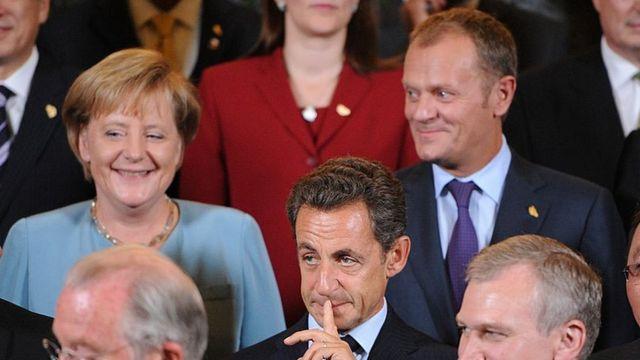 Ангела Меркель, Дональд Туск, Николя Саркози