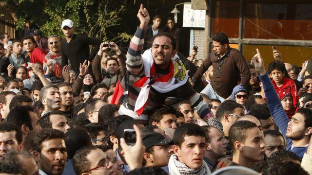 Protestos no Egito durante a Primavera Árabe