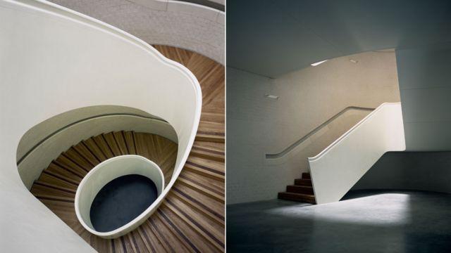 Escaleras de la Newport Street Gallery