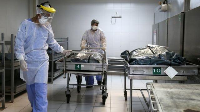 Corpos em hospital