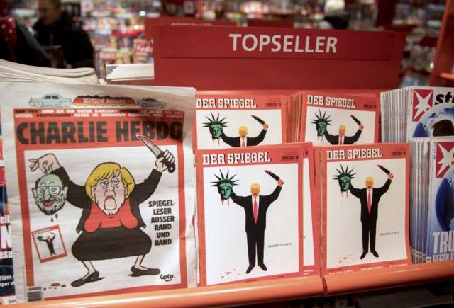 """""""Le Canard"""" dobla en tirada a la controvertida """"Charlie Hebdo""""."""