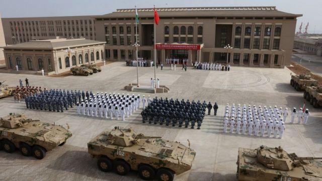 Cibuti'de üs açma töreni