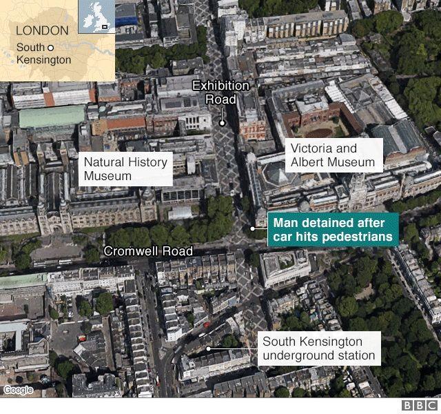 Map of South Kensington