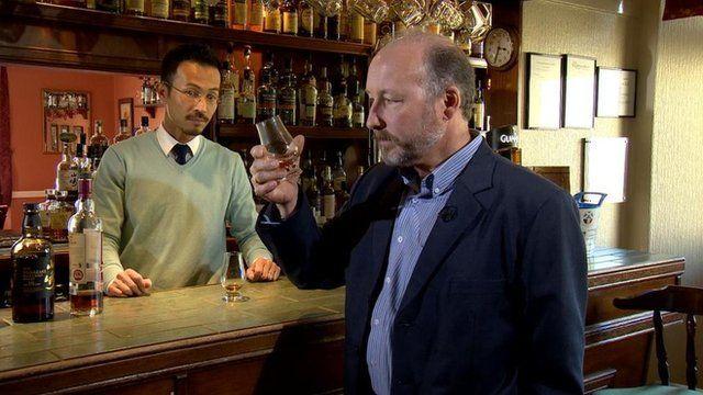 Whisky taste test