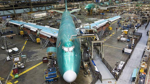 Fabrica de Jumbo Jet.