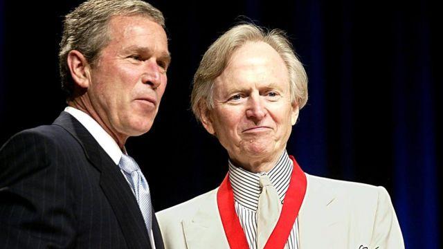 Джордж Буш и Том Вулф