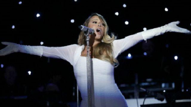 """""""Des fois ça merde"""" a écrit Mariah Carey sur Twitter."""