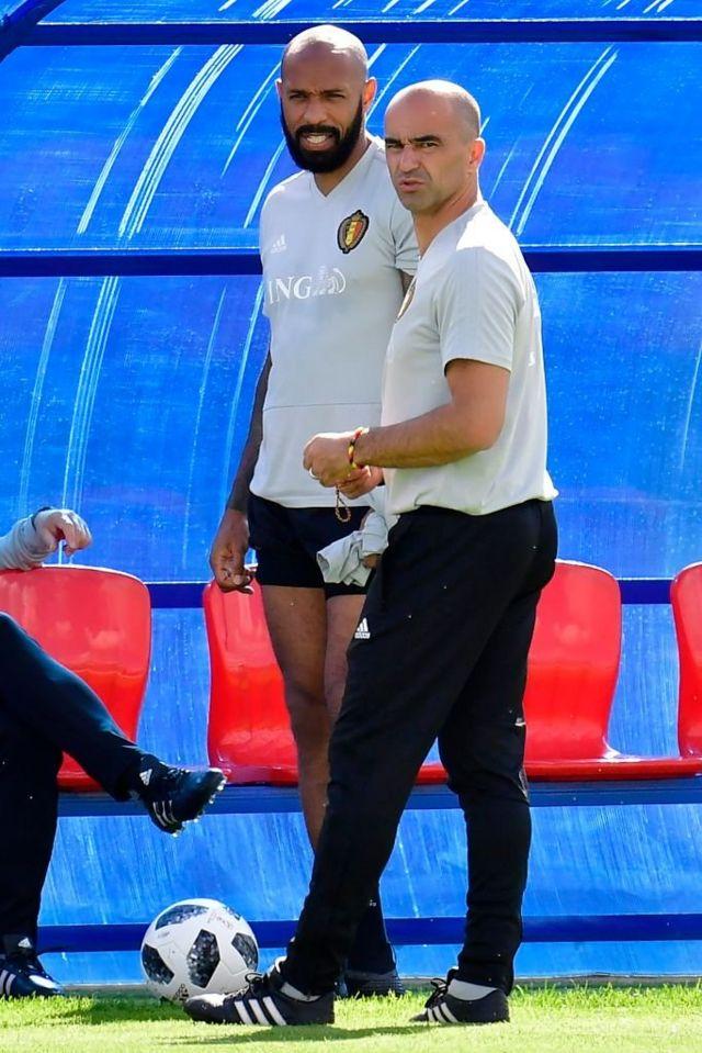 Uno de los principales ayudantes de Martínez en Bélgica es el francés Thierry Henry, que tendrá sentimientos encontrados en el partido de semifinales.