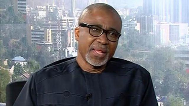 Le sénateur nigérian Enyinnaya Abaribe