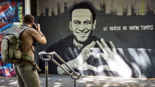 Граффити с Навальным
