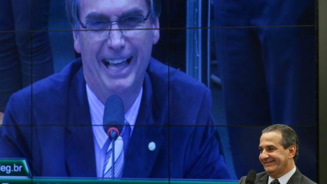 Jair Bolsonaro e Silas Malafaia