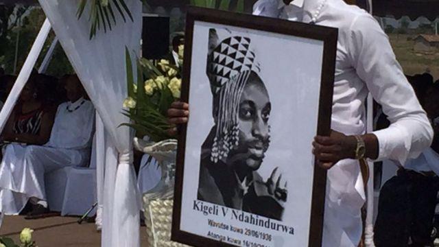Umwami Kigeli V yatanze mu kwezi kw'icumi kw'umwaka uheze