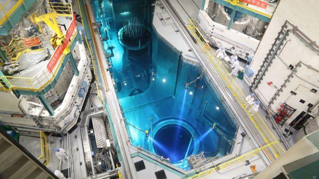 福清核電5號機組裝料水池(新華社圖片4/9/2020)