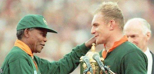 Nelson Mandela na Francois Pienaar