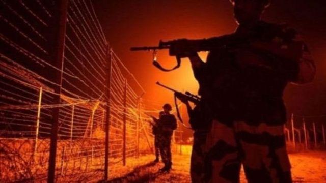 भारत पाक सीमा पर तनाव