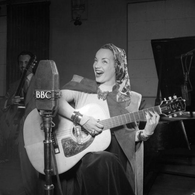 Carmen Miranda na BBC