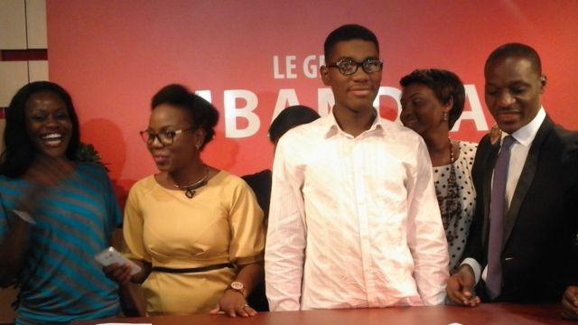 Samuel était invité mardi 26 juillet sur les plateaux de Nzimba, une emission phare axée sur la jeunesse diffusée sur Télé Gabon