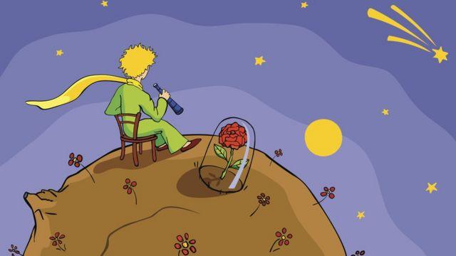 Ilustração do Pequeno Príncipe