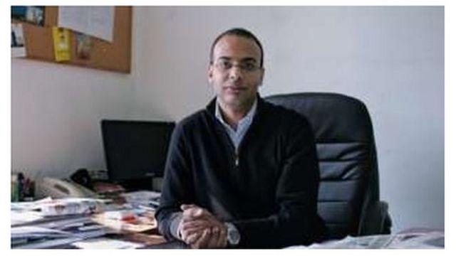 Hossam Bahgat a fondé l'Initiative egyptienne pour les droits personnels.