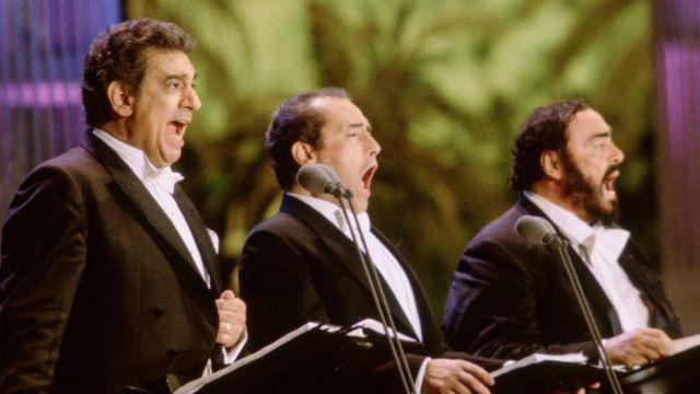 Доминго, Каррерас и Паваротти в 1994 году