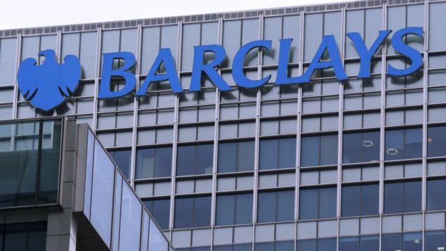 Edifício do banco Barclays em Londres