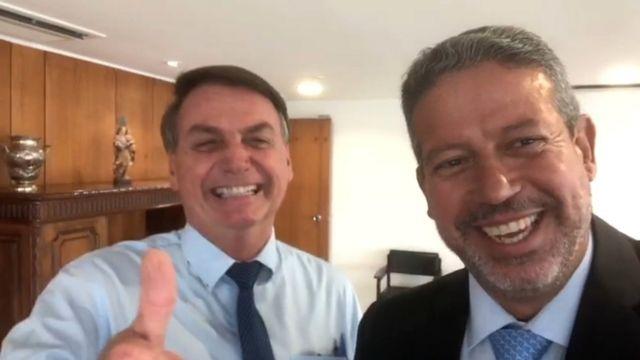 Bolsonaro e Lira
